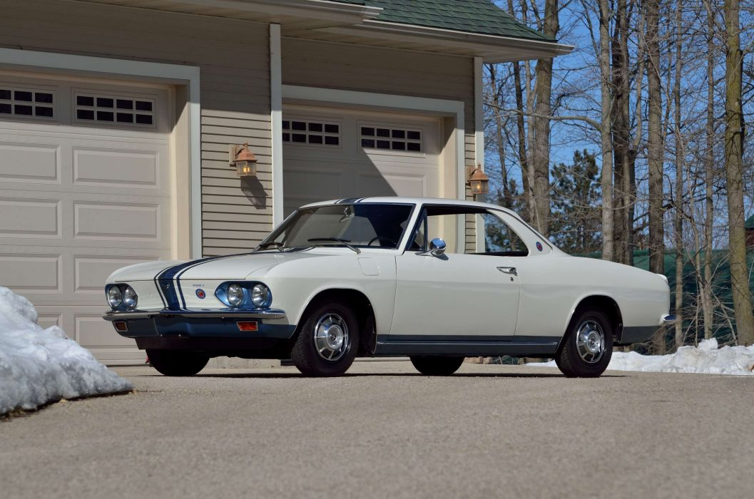 1966 Chevrolet Corvair StageII GT Classic USA 4200x2790-01 wallpaper