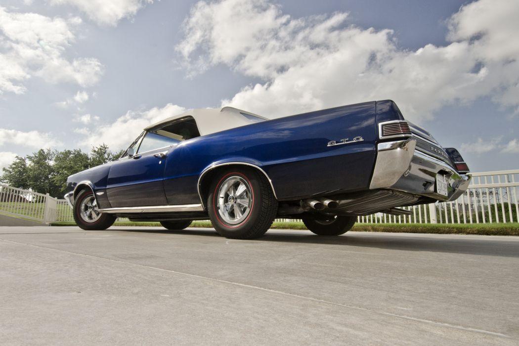 1965 Pontiac GTO Convertible Muscle Classic USA 4200x2790-03 wallpaper