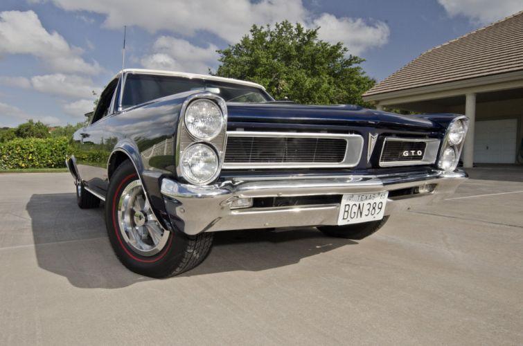 1965 Pontiac GTO Convertible Muscle Classic USA 4200x2790-02 wallpaper