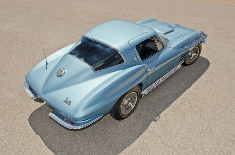 1966 Chevrolet Corvette Coupe Muscle Classic USA 4200x2800-04 wallpaper