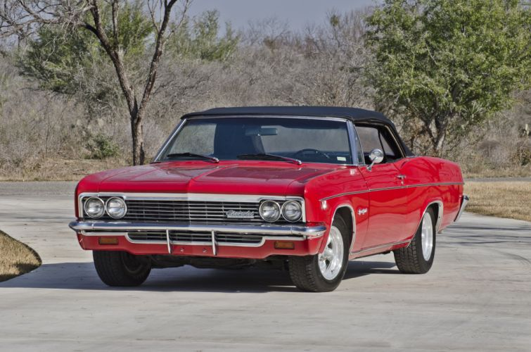 1966 Chevrolet Impala SS Convertible Muscle Classic USA 4200x2790-01 wallpaper
