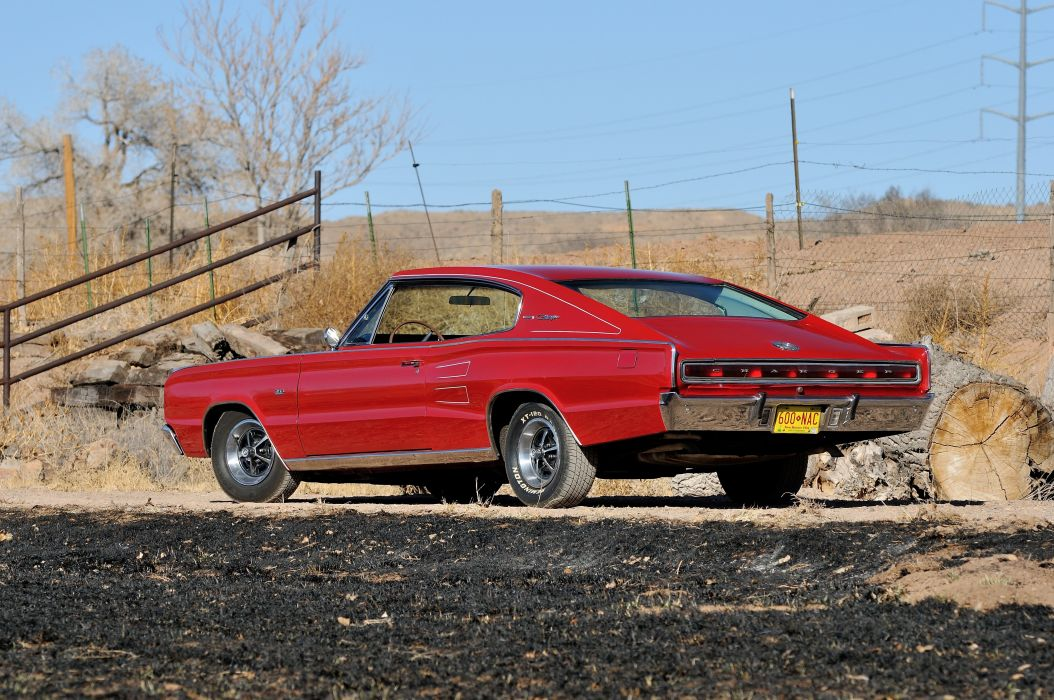 1966 Dodge Charger RT Muscle Classic USA 4200x2790-03 wallpaper