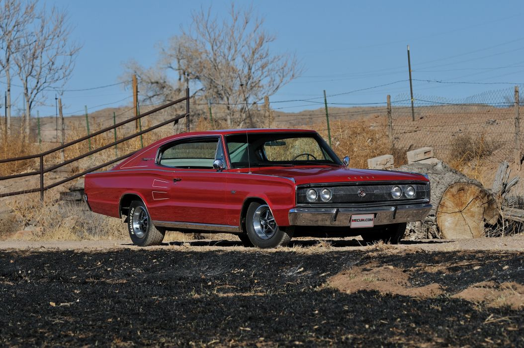 1966 Dodge Charger RT Muscle Classic USA 4200x2790-06 wallpaper
