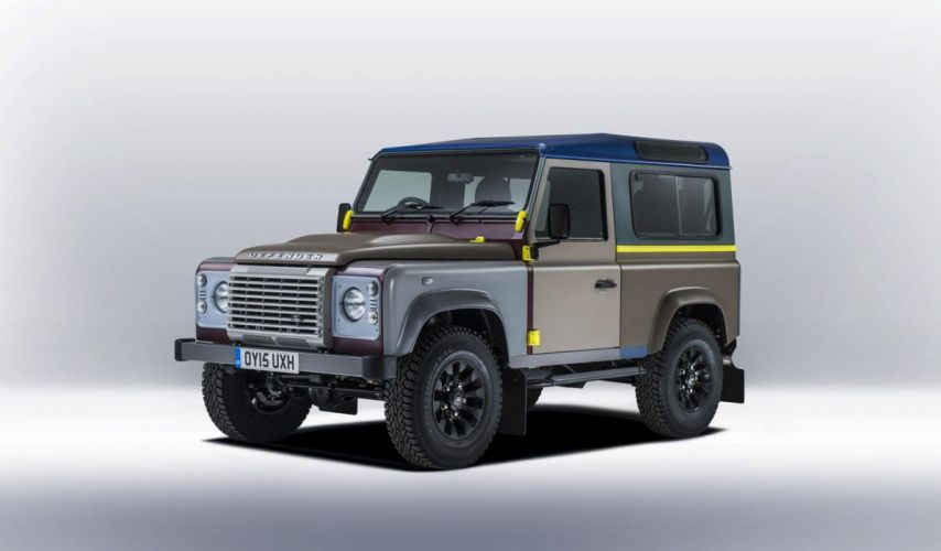 Land Rover Defender off road 2015 cars tuning wallpaper