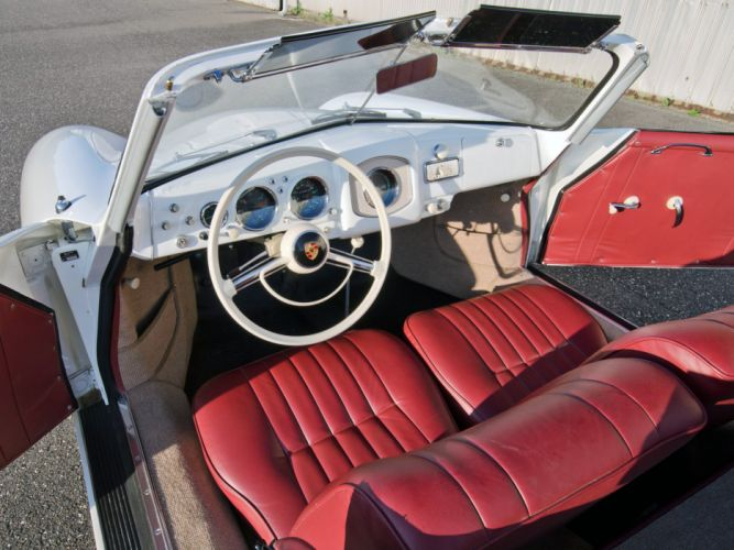 Porsche 356 1500 Cabriolet convertible classic cars wallpaper