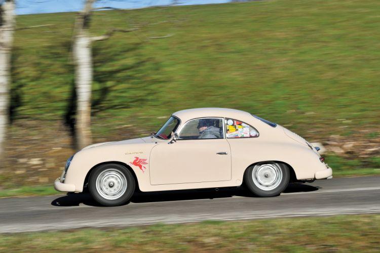 Porsche 356A 1500 GS Carrera GT Coupe classic cars 1955 wallpaper