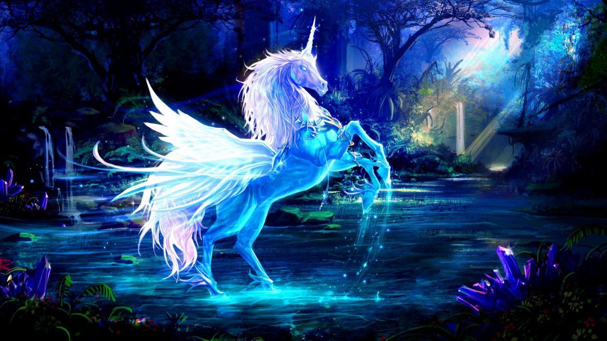 atrte fantasia unicornio wallpaper