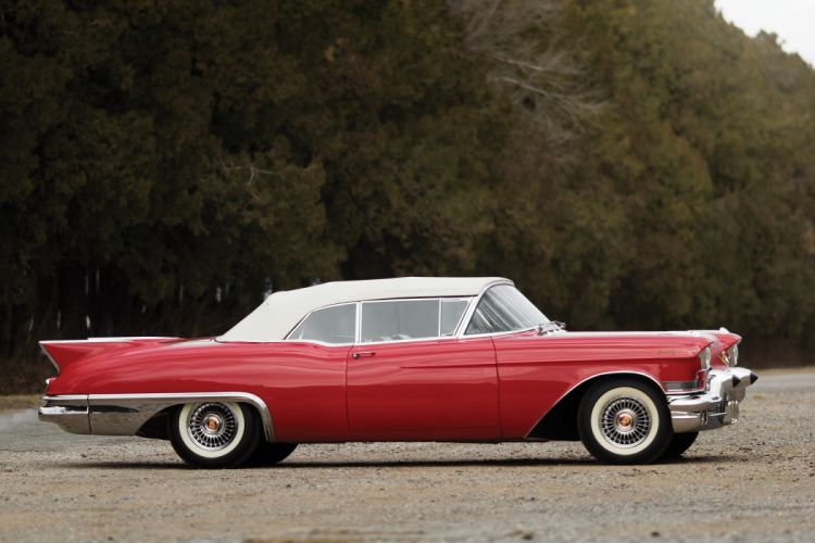1957 Cadillac Sixty-Two Eldorado Special Biarritz cars convertible classic retro wallpaper