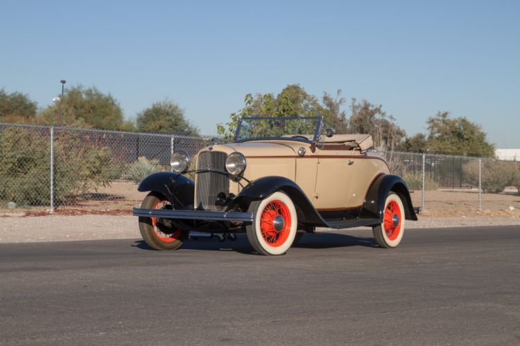 1932 Ford Model 18 Deluxe Roadster Classic USA 5184x3456-04 wallpaper