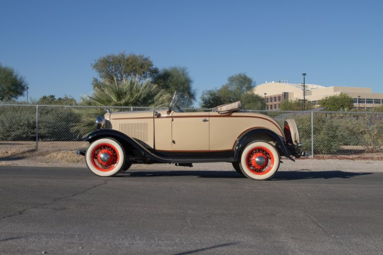1932 Ford Model 18 Deluxe Roadster Classic USA 5184x3456-05 wallpaper