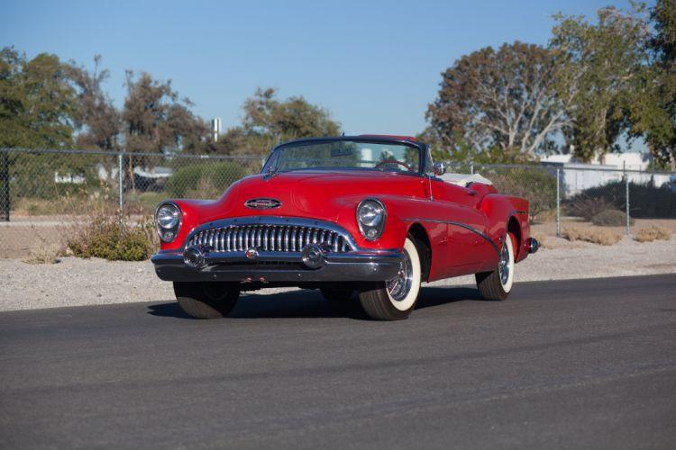 1953 Buick Eight Skylark Convertible Classic USA 5184x3456-01 wallpaper