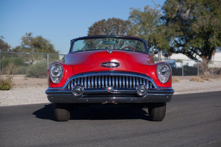 1953 Buick Eight Skylark Convertible Classic USA 5184x3456-03 wallpaper