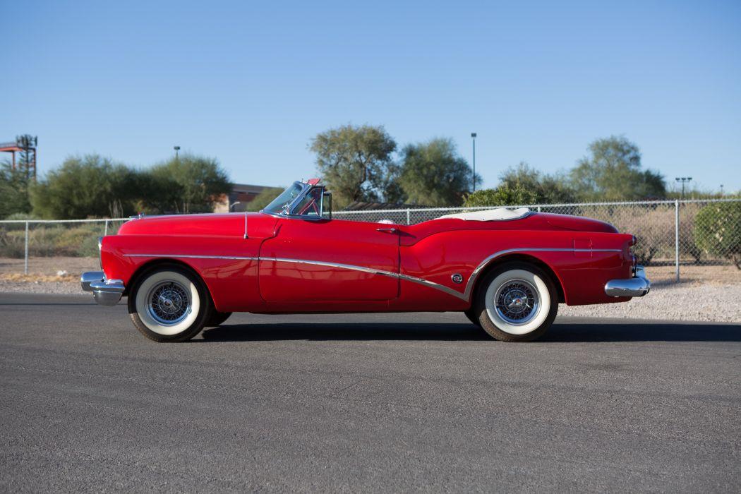 1953 Buick Eight Skylark Convertible Classic USA 5184x3456-07 wallpaper
