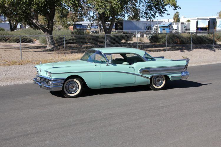 1958 Buick Special Two Door Hardtop Classic USA 5184x3456-02 wallpaper