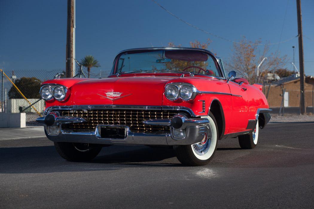 1958 Cadillac Eldorado Biarritz Convertible Classic USA 5184x3456-01 wallpaper