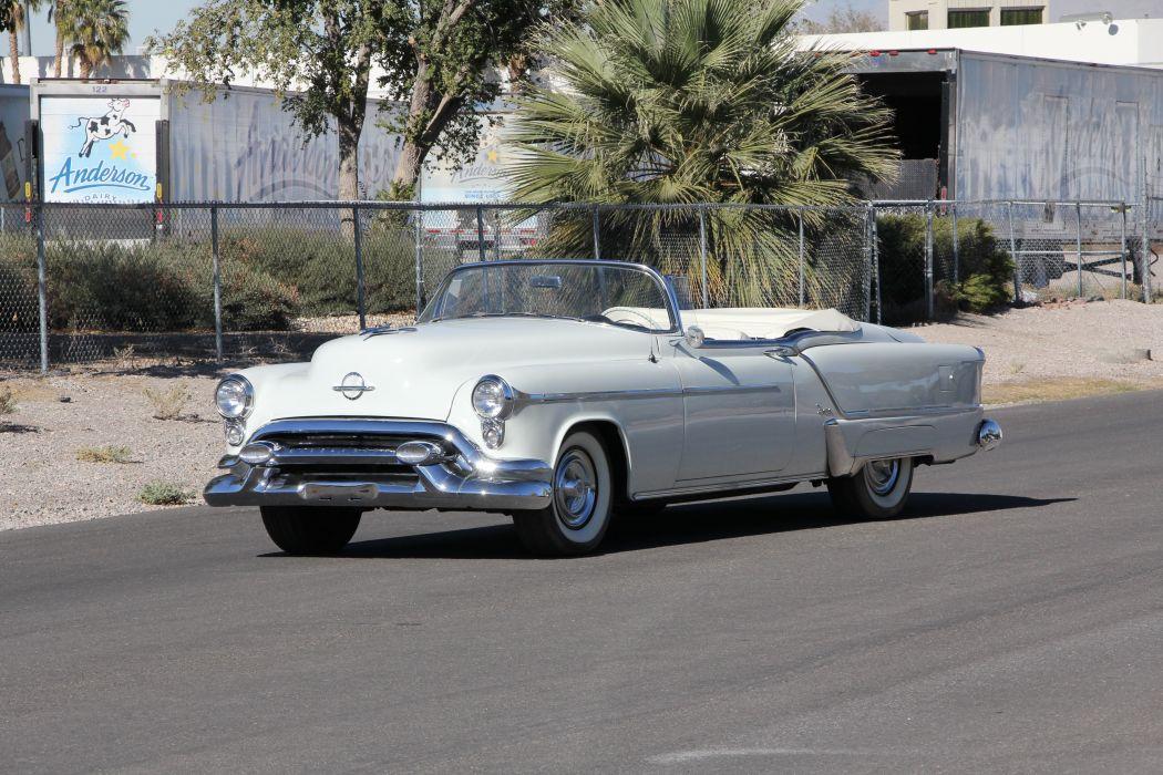 1953 Oldsmobile Fiesta Convertible Classic USA 5184x3456-01 wallpaper
