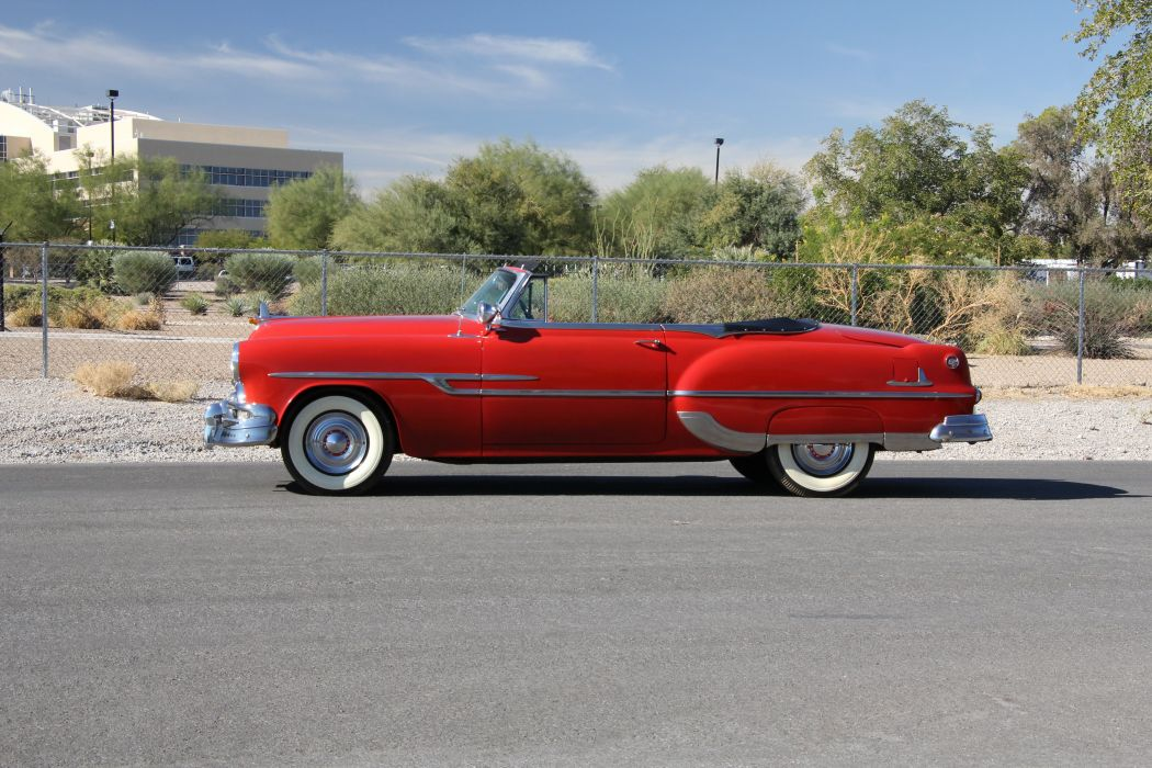 1953 Pontiac Chieftain Eight Deluxe Convertible 5184x3456-03 wallpaper