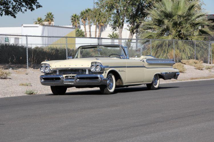 1957 Mercury Turnpick Cruiser Convertible Classic USA 5184x3456-01 wallpaper