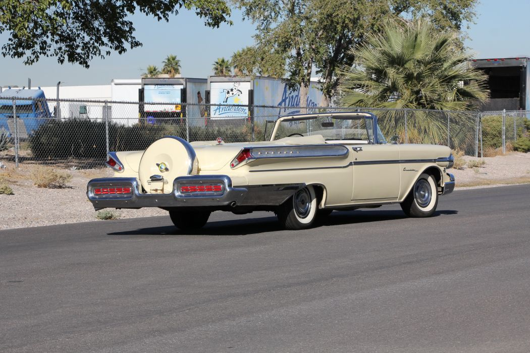 1957 Mercury Turnpick Cruiser Convertible Classic USA 5184x3456-04 wallpaper