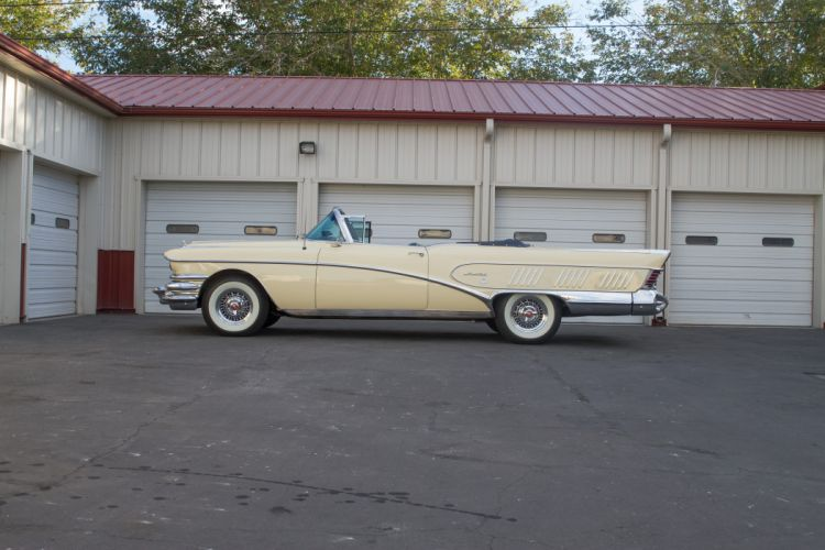 1958 Buick Convertible Limited Classic USA 5184x3456-05 wallpaper