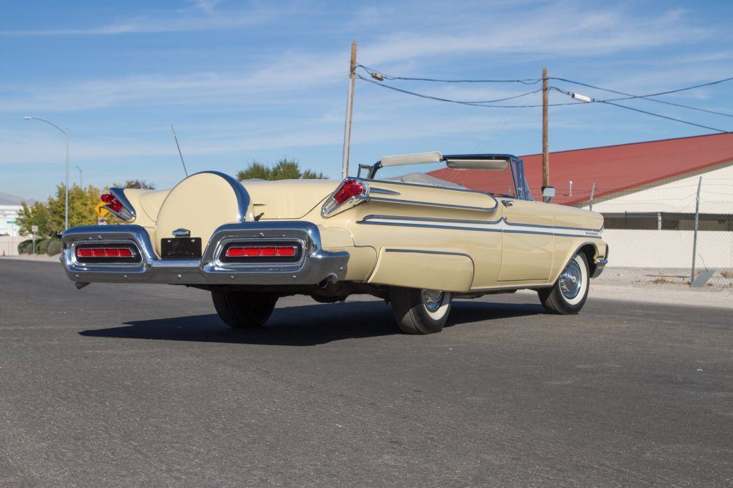 1958 Mercury Monclair Convertible Classic USA 5184x3456-05 wallpaper