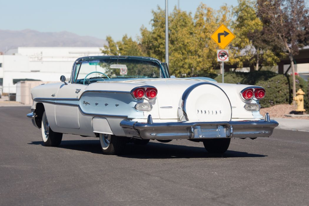 1958 Pontiac Chieftain Eight Deluxe Convertible 5184x3456-04 wallpaper