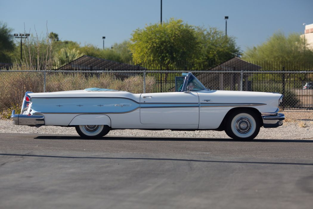 1958 Pontiac Chieftain Eight Deluxe Convertible 5184x3456-05 wallpaper