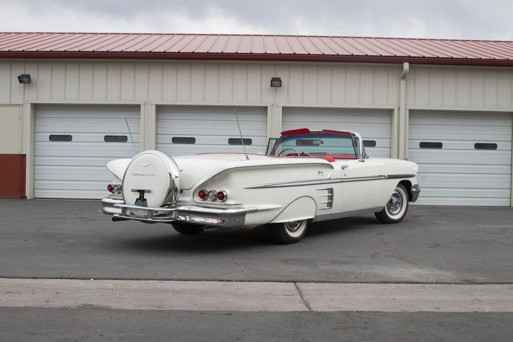 1958 Chevrolet Impala Convertible CLASSIC USA 5184x3456-06 wallpaper