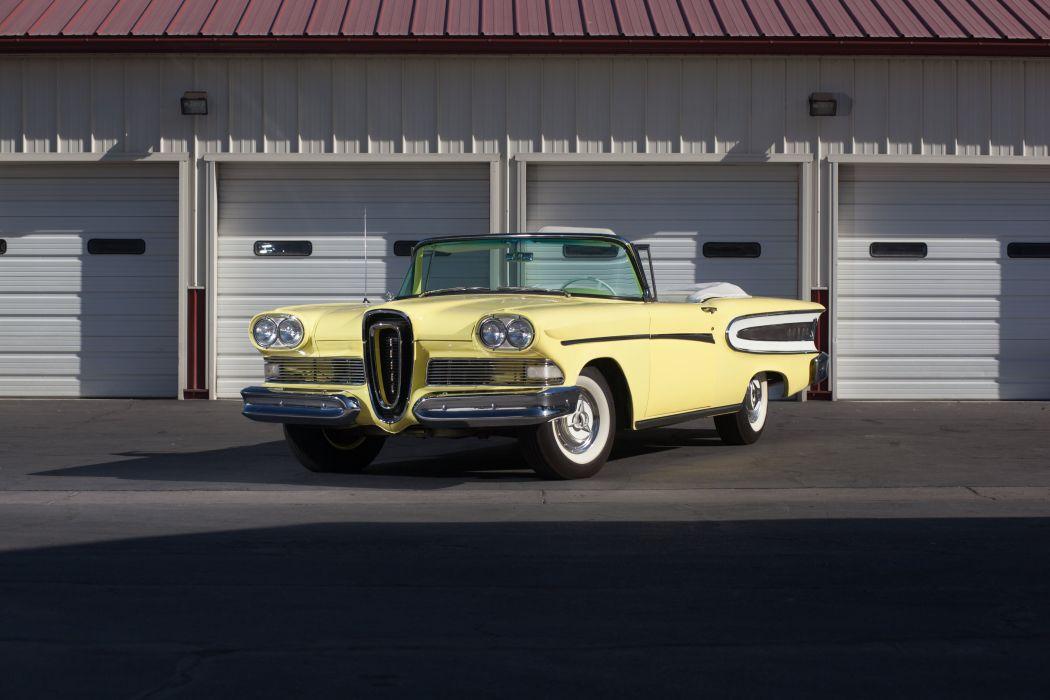 1958 Edsel Citation Convertible Classic USA 5184x3456-01 wallpaper