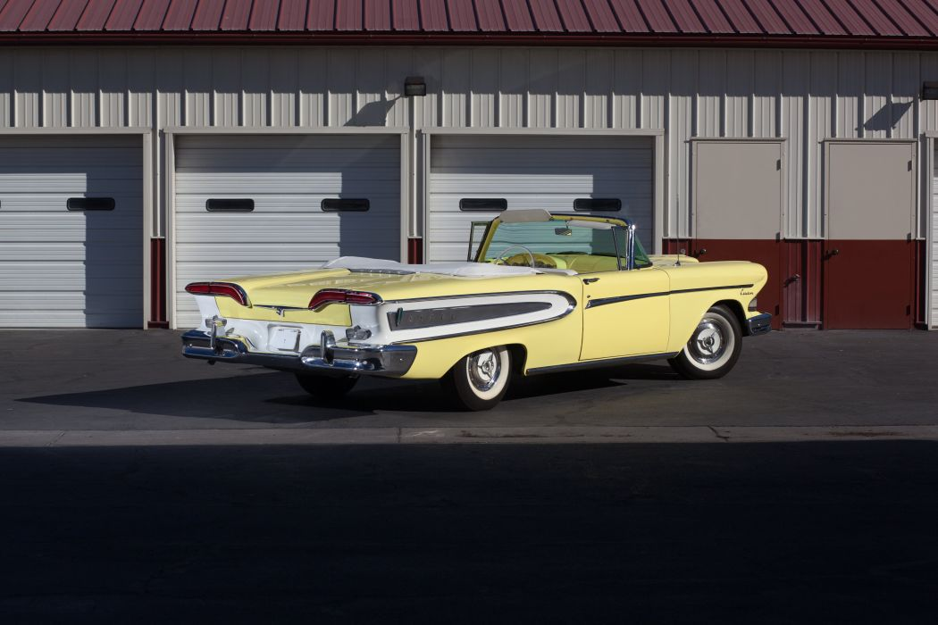1958 Edsel Citation Convertible Classic USA 5184x3456-03 wallpaper