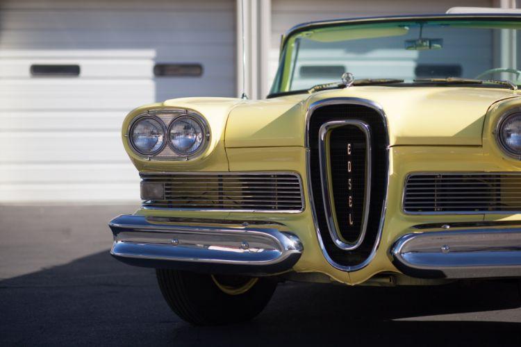 1958 Edsel Citation Convertible Classic USA 5184x3456-07 wallpaper