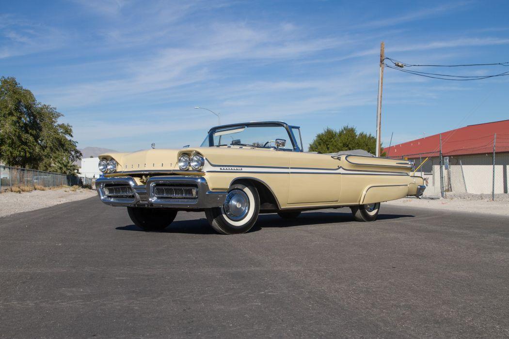 1958 Mercury Monclair Convertible Classic USA 5184x3456-01 wallpaper