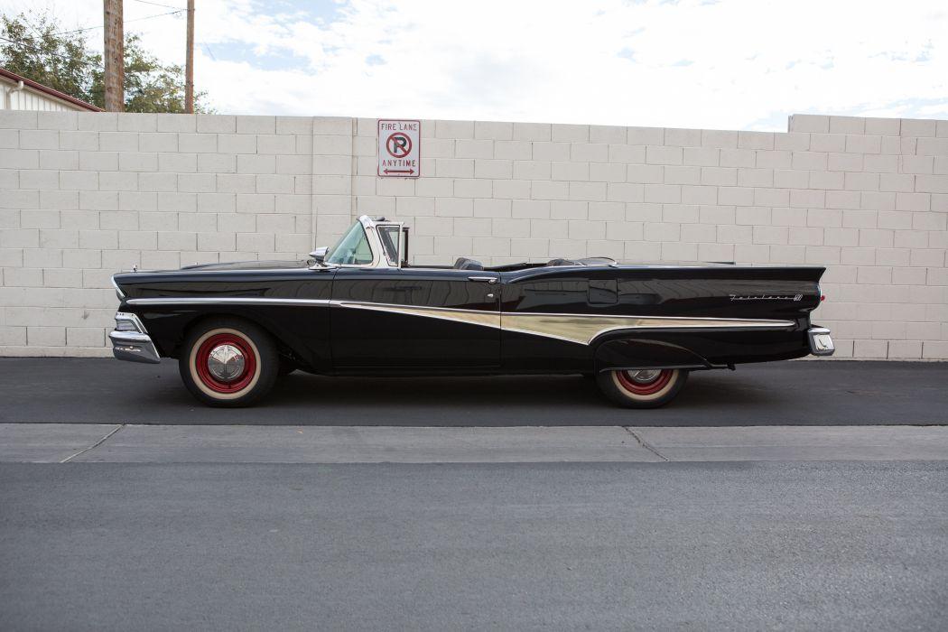 1958 Ford Fairlane 500 Convertible Classic USA 5184x3456-04 wallpaper