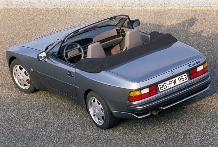 Porsche 944 Turbo Cabriolet cars wallpaper