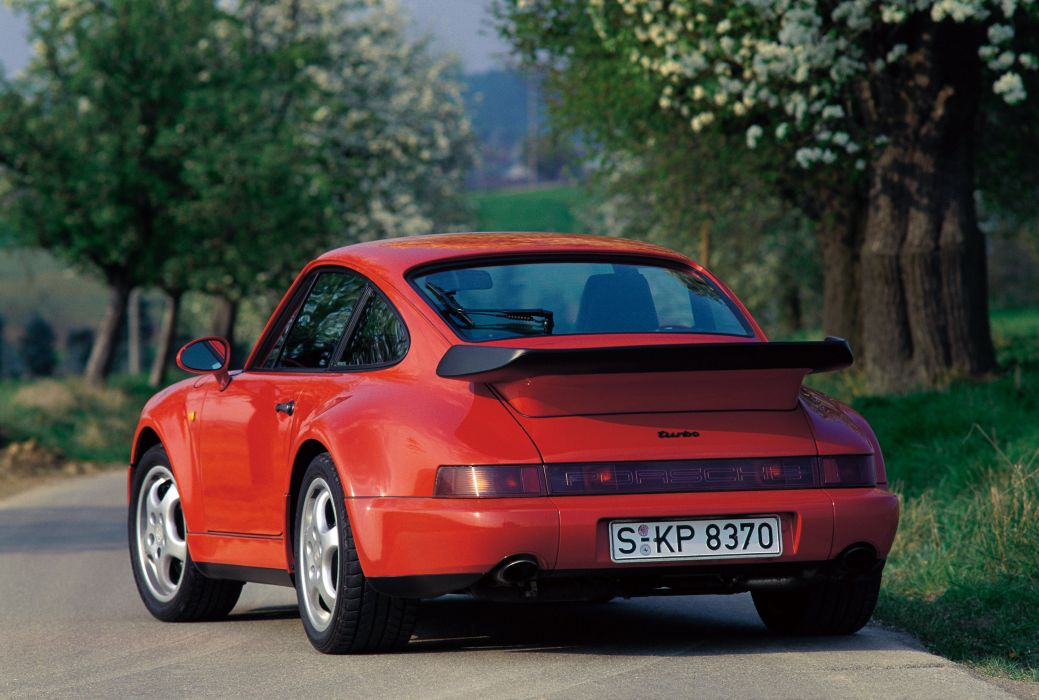Porsche 911 964 Turbo 3 3 Coupe cars wallpaper