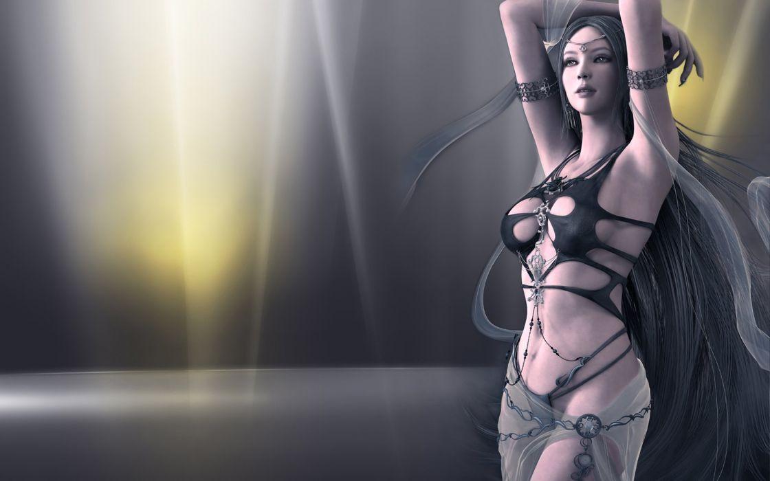 SHAIYA fantasy mmo rpg action adventure fighting 1shaiya good evil online perfect detail girl girls warrior wallpaper