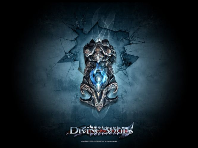 DIVINE SOULS fantasy mmo rpg fighting action dungeon crawler 1dsouls adventure warrior wallpaper