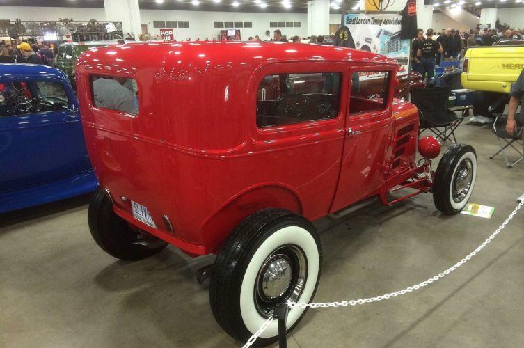 1930 Ford ModelA Sedan Hotrod Hot Rod Streetrod Street USA 2048x1360-07 wallpaper