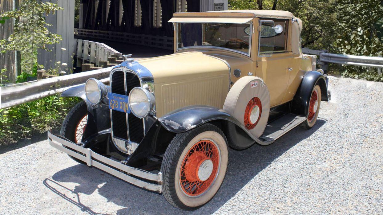 1930 Pontiac Cabriolet Classic USA 1600x900-01 wallpaper