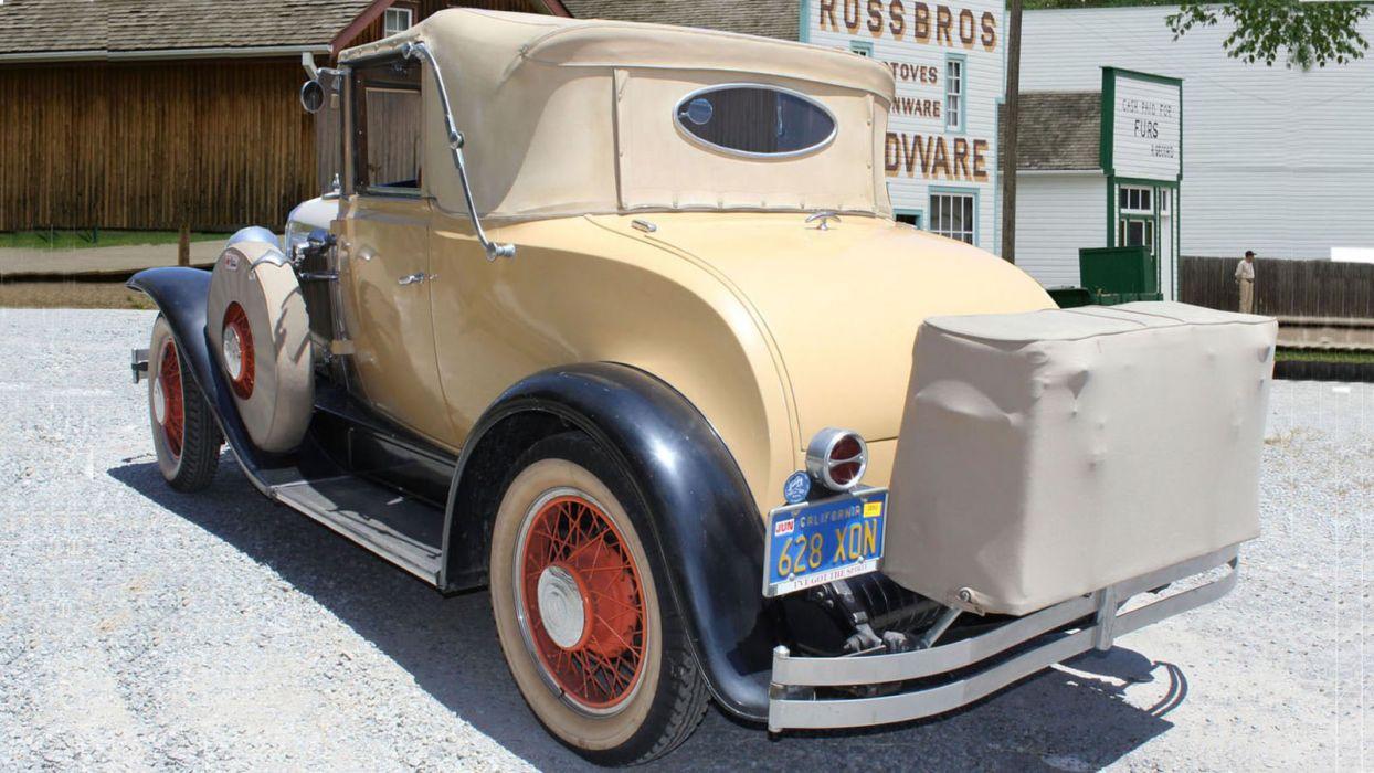 1930 Pontiac Cabriolet Classic USA 1600x900-03 wallpaper