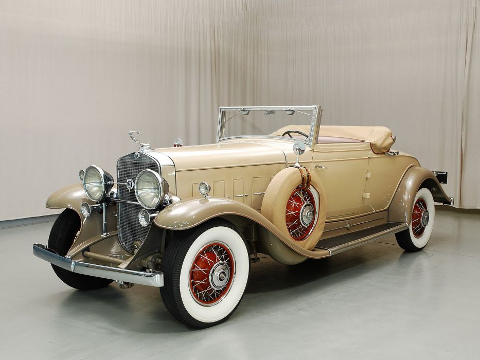 1931 Cadillac V12 Convertible Classic USA 1600x1200-01 wallpaper