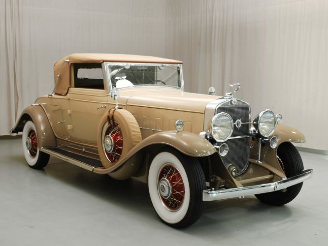 1931 Cadillac V12 Convertible Classic USA 1600x1200-03 wallpaper