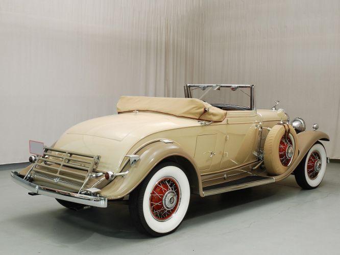 1931 Cadillac V12 Convertible Classic USA 1600x1200-04 wallpaper