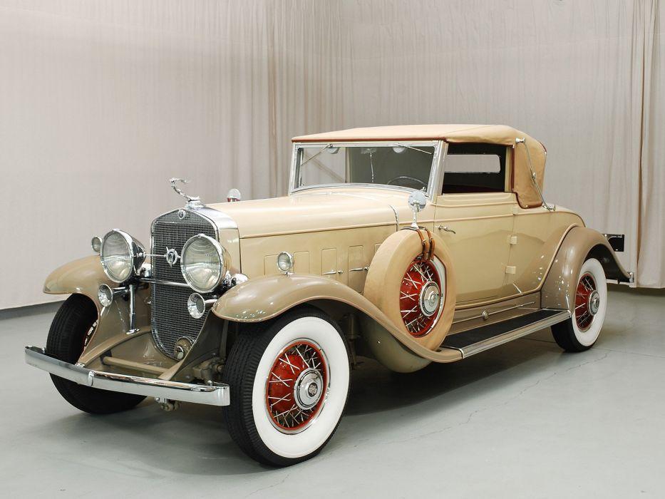 1931 Cadillac V12 Convertible Classic USA 1600x1200-07 wallpaper