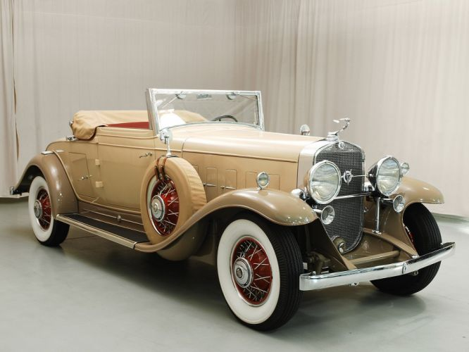 1931 Cadillac V12 Convertible Classic USA 1600x1200-08 wallpaper