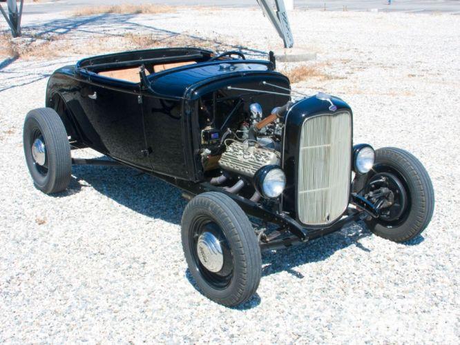 1931 Ford ModelA Roadster Hiboy Streetrod Street Rod Hotrod Hot USA 1600x1200-03 wallpaper