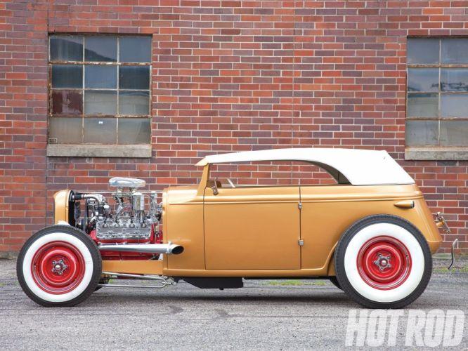 1931 Ford ModelA Roadster Streetrod Street Rod Hot USA 1600x1200-05 wallpaper