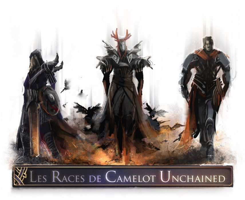 CAMELOT UNCHAINED counter revolutionary fantasy action mmo rpg online 1camun strategy poster warrior wallpaper