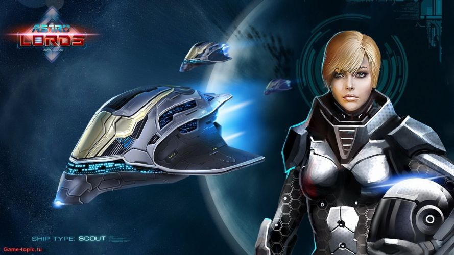 ASTRO LORDS Online space strategy sci-fi action fighting Oort Cloud 1alords mmo rpg warrior spaceship poster wallpaper