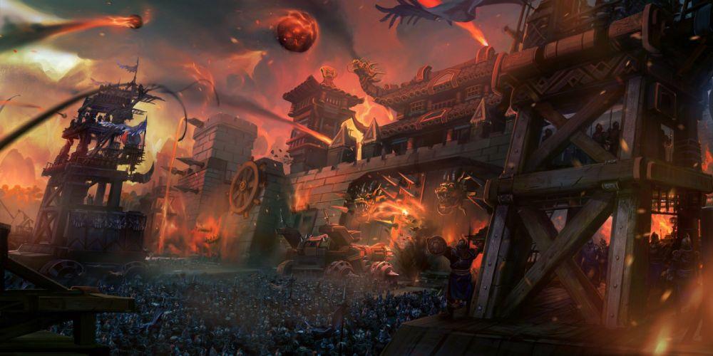 THREE KINGDOMS Online asian fantasy mmo rpg samurai action fighting 1tko strategy Chinese warrior poster artwork battle wallpaper